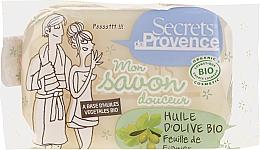 Düfte, Parfümerie und Kosmetik Bio Seife mit Olivenöl und Feigenbaum-Duft für Gesicht, Körper und Hände - Secrets De Provence My Soap Bar Olive Oil Fig Tree