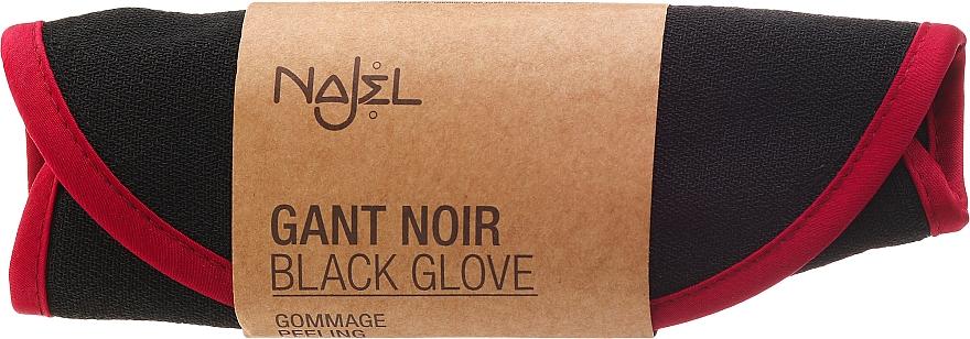 Peeling-Handschuh - Najel Black Kassa — Bild N1