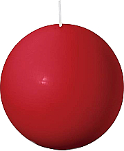 Düfte, Parfümerie und Kosmetik Kerze in Kugelform rot 80 mm - Bolsius Candle