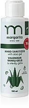 Düfte, Parfümerie und Kosmetik Antibakterielles Handgel mit Aloe Vera - Margarita Cleansing Hand Gel With Aloe Gel