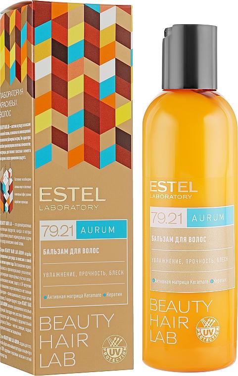 Feuchtigkeitsspendende, schützende und stärkende Haarspülung - Estel Beauty Hair Lab 79.21 Aurum