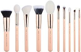 Düfte, Parfümerie und Kosmetik Make-up Pinselset T449 10 St. - Jessup