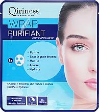 Düfte, Parfümerie und Kosmetik Pflegende Tuchmaske - Qiriness Wrap Purifiant Mask