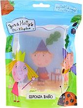 Düfte, Parfümerie und Kosmetik Kinder-Badeschwamm Ben & Holly blau-rot - Suavipiel Ben & Holly Bath Sponge