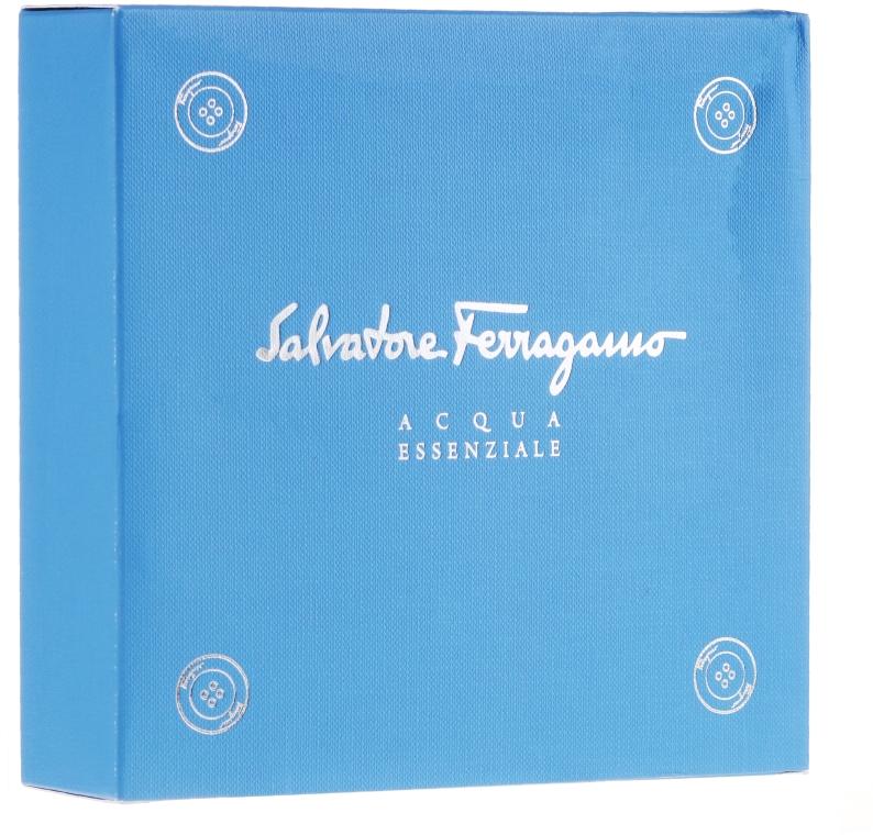 Salvatore Ferragamo Acqua Essenziale - Duftset (Eau de Toilette 30ml + Shampoo & Duschgel 50ml) — Bild N1