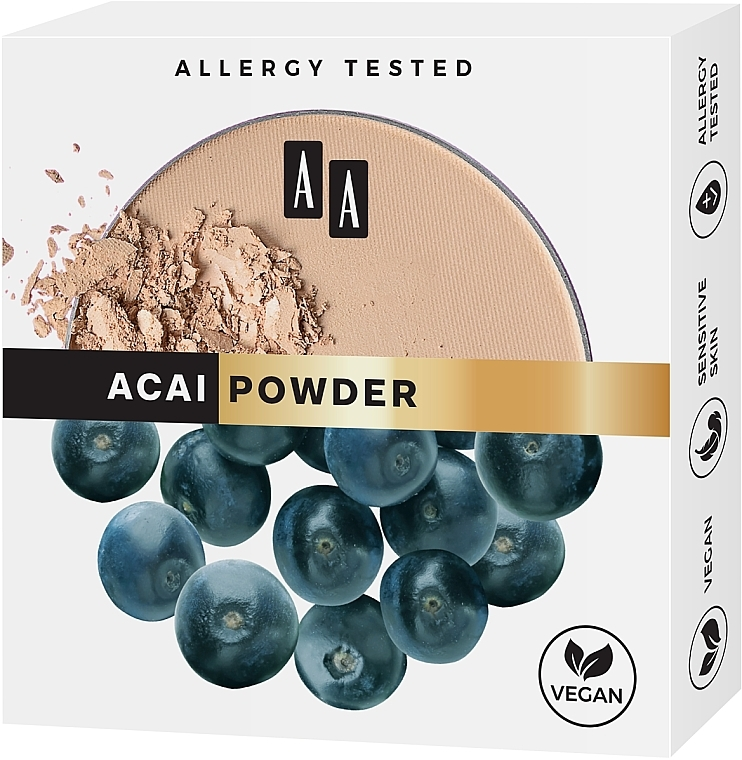 Mattierender Gesichtspuder - AA Acai Powder — Bild N2