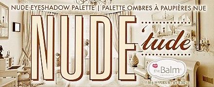 Lidschattenpalette - TheBalm NudeTude Eyeshadow Palette — Bild N2