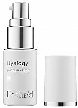 Düfte, Parfümerie und Kosmetik Platin intensive Gesichtsessenz - ForLLe'd Hyalogy Platinum Essence