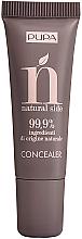 Düfte, Parfümerie und Kosmetik Cremiger Concealer gegen dunkle Augenringe und Unregelmäßigkeiten - Pupa Natural Side Concealer