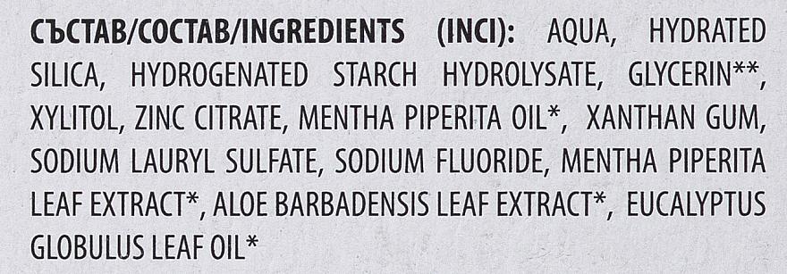 Zahnpasta mit Minzeextrakt - Dental Bio Vital Natural Fresh Toothpaste — Bild N3