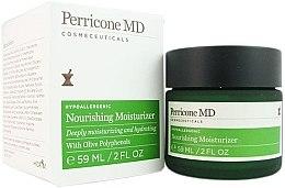 Düfte, Parfümerie und Kosmetik Beruhigende und pflegende Feuchtigkeitscreme für das Gesicht - Perricone MD Hypoallergenic Nourishing Moisturizer