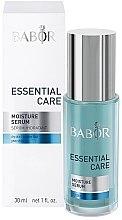 Düfte, Parfümerie und Kosmetik Gesichtsserum für trockene Haut mit Aloe Vera und Hyaluronsäure - Babor Essential Care Moisture Serum