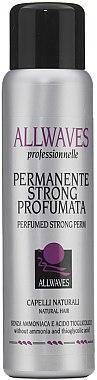 Dauerwelle-Lotion für normales Haar ohne Ammoniak und Thioglykolsäure - Allwaves Permanente Strong Profumata — Bild N1