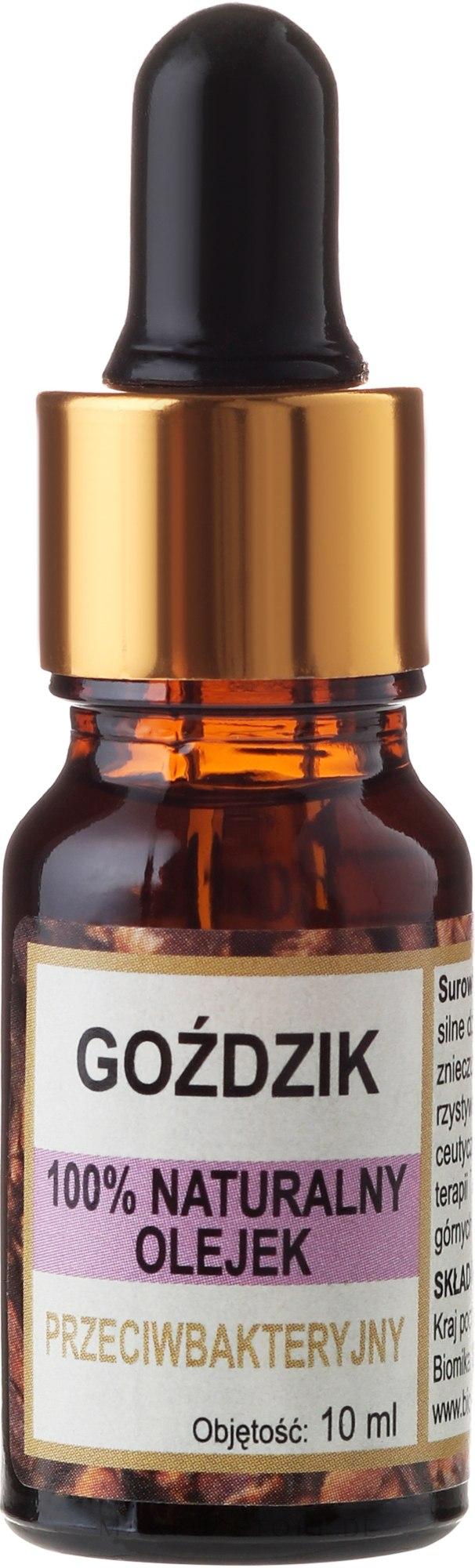 100% Natürliches Nelkenöl - Biomika Carnation Oil — Bild 10 ml