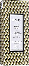 Düfte, Parfümerie und Kosmetik Körperpflegeset - Baija Festin Royal (Duschgel 100ml + Körpercreme 75ml + Körperpeeling 70g)