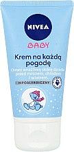 Düfte, Parfümerie und Kosmetik Wind & Wetter Schutzcreme für Babys - Nivea Baby Cream For Any Weather Hypoallergenic