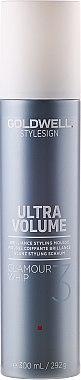 Haarschaum für mehr Glanz und Volumen - Goldwell StyleSign Ultra Volume Glamour Whip Styling Mousse — Bild N1