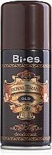 Düfte, Parfümerie und Kosmetik Deospray - Bi-es Royal Brand Gold