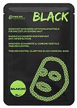 Düfte, Parfümerie und Kosmetik Gesichtsmaske mit schwarzen Aktivkohlepartikeln für eine zeitlos schöne Haut - Timeless Truth Control Clarifying Black Charcoal Mask