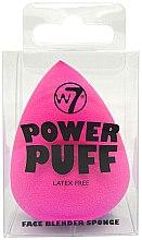 Düfte, Parfümerie und Kosmetik Foundationschwamm pink - W7 Power Puff Latex Free Foundation Face Blender Sponge Hot Pink