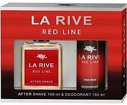 Düfte, Parfümerie und Kosmetik La Rive Red Line - Duftset (After Shave/100ml + Deodorant/150ml)
