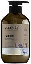 Düfte, Parfümerie und Kosmetik Regenerierende Haarspülung mit Argan und weißem Jasmin für stapaziertes Haar - Ecolatier Urban Hair Balm