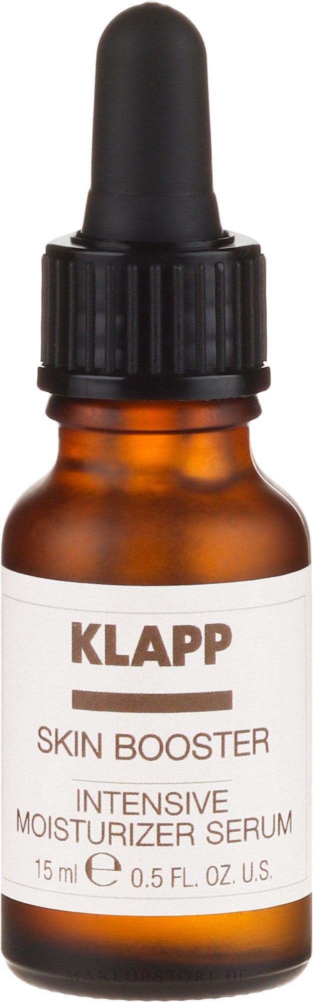 Intensiv feuchtigkeitsspendendes Gesichtsserum - Klapp Skin Intense Moisturizer Serum — Bild 15 ml