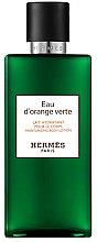 Düfte, Parfümerie und Kosmetik Hermes Eau Dorange Verte - Körperlotion
