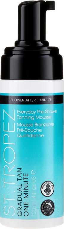 Selbstbräuner-Mousse vor dem Duschen - St. Tropez Gradual Tan One Minute Everyday Pre-shower Tanning Mousse