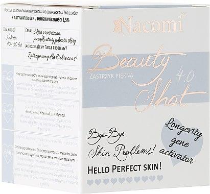 Konzentriertes Gesichtsserum für trockene Haut gegen Pigmentveränderungen - Nacomi Beauty Shots Concentrated Serum 4.0 — Bild N1