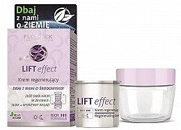 Düfte, Parfümerie und Kosmetik Regenerierende Gesichtscreme mit Lifting-Effekt inkl. austauschbare Patrone - Floslek Lift Effect Regenerating Cream (jar + removable refill)