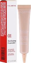 Düfte, Parfümerie und Kosmetik Langanhaltender Gesichtsconcealer - Clarins Everlasting Long-Wearing And Hydration Concealer