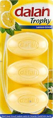 Toilettenseifen mit Zitronenduft - Dalan Trophy Lemon — Bild N1