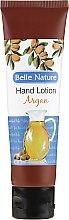 Düfte, Parfümerie und Kosmetik Beruhigende Handcreme mit Arganöl - Belle Nature Hand Lotion Argan