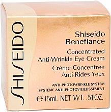 Regenerierende Anti-Aging Augencreme - Shiseido Benefiance Concentrated Anti-Wrinkle Eye Cream — Bild N3
