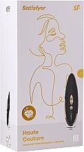 Düfte, Parfümerie und Kosmetik Wasserdichter Druckwellen- und Vibrations-Klitoris-Stimulator schwarz - Satisfyer Luxury Haute Couture Black