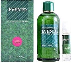 Düfte, Parfümerie und Kosmetik Luxana Evento - Duftset (Eau de Toilette 1000ml + Eau de Toilette 50ml)