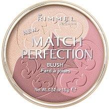 Rouge Trio - Rimmel Match Perfection Blush — Bild N1