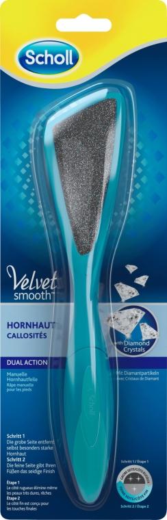 Hornhautfeile mit Diamantpartikeln - Scholl Velvet Smooth Dual Action — Bild N1