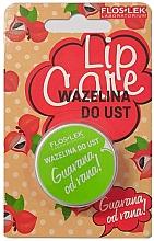Düfte, Parfümerie und Kosmetik Kosmetische Vaseline für die Lippen - Floslek Lip Care Guarana Od Rana Lip Vaseline