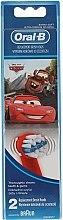 Düfte, Parfümerie und Kosmetik Austauschbare Zahnbürstenköpfe für Kinderzahnbürste extra weich EB10 Maitre und Lightning McQueen 2 St. - Oral-B Stages Power Disney