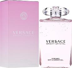 Versace Bright Crystal - Duschgel — Bild N2