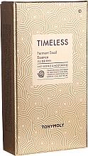 Düfte, Parfümerie und Kosmetik Gesichtspflegeset - Tony Moly Timeless Ferment Snail Essence Gift Set (Gesichtsessenz 50ml + Gesichtstonikum 20ml + Gesichtsemulsion 20ml)