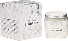 Düfte, Parfümerie und Kosmetik Natürliche weiße Zahnpasta - Ben & Anna Natural White Toothpaste