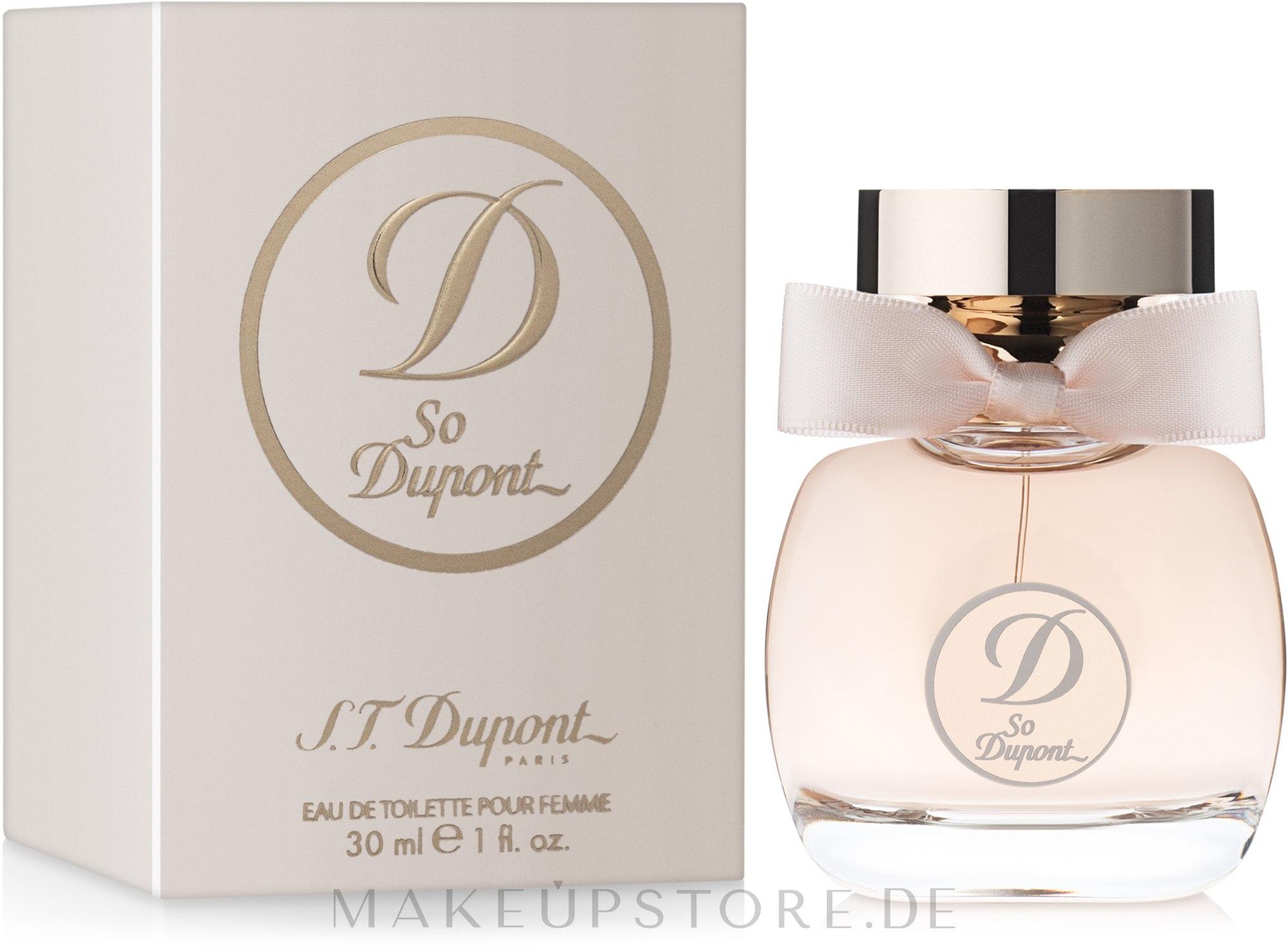 S.T. Dupont So Dupont Pour Femme - Eau de Toilette — Bild 30 ml