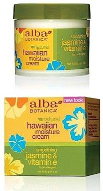 Feuchtigkeitsspendende Gesichtscreme mit Vitamin E und Jasmin - Alba Botanica Natural Hawaiian Moisture Cream Smoothing Jasmine & Vitamin E — Bild N2