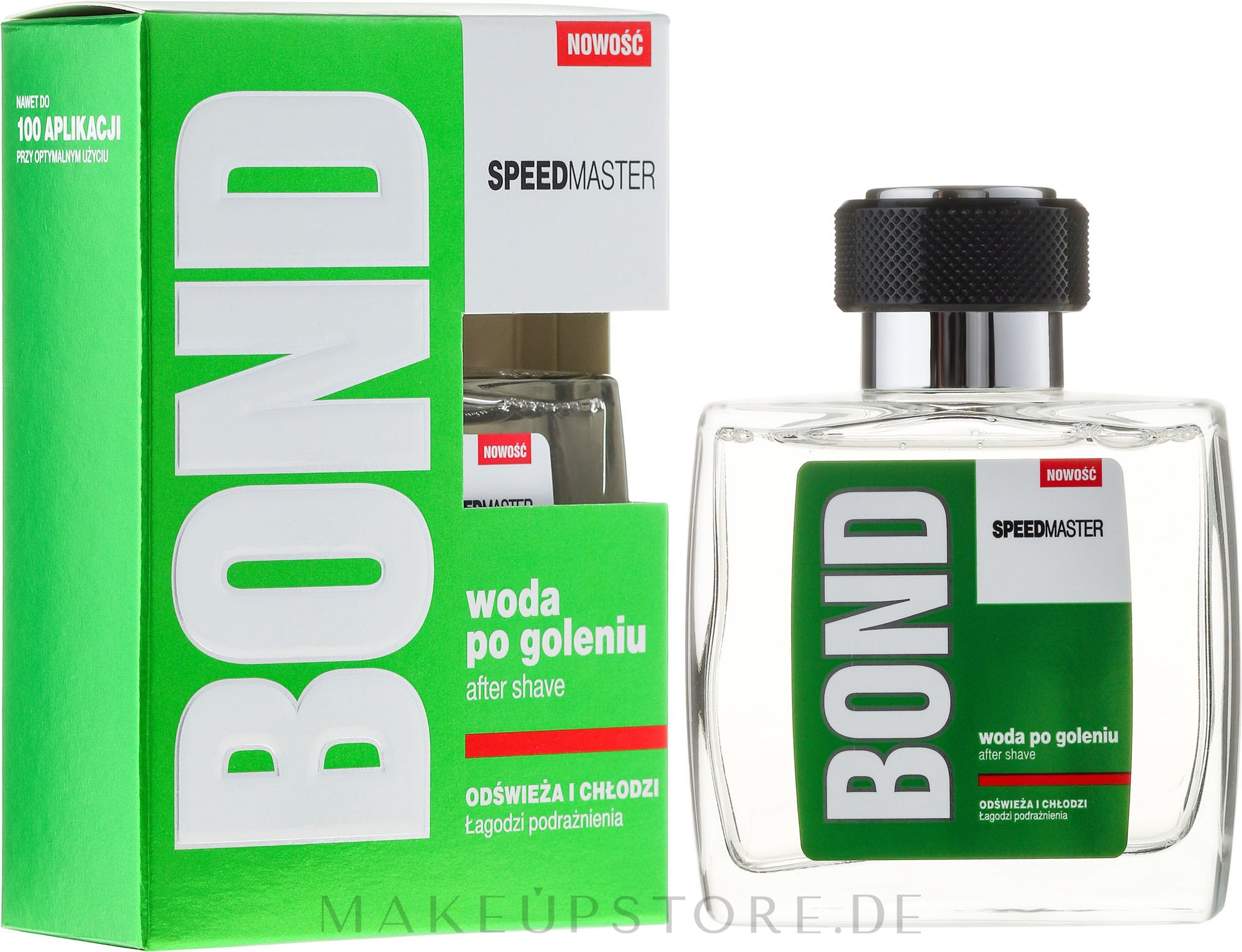 Beruhigende After Shave Lotion - Bond Speedmaster After Shave Lotion — Bild 100 ml