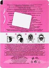 Aufhellende Tuchmaske mit Rosenextrakt - Avon Care Radiant Sheet Mask With Rose — Bild N2