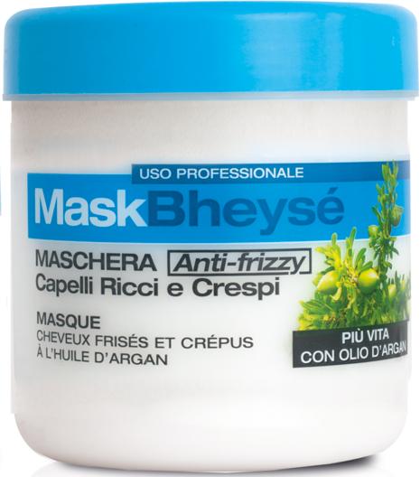 Haarmaske mit Arganöl für lockiges Haar - Renee Blanche Bheyse Maschera Capelli Ricci e Crespi — Bild N2