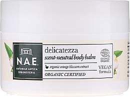 Düfte, Parfümerie und Kosmetik Körperbalsam mit Bio Orangenblütenextrakt - N.A.E. Delicatezza Scent-Neutral Body Balm